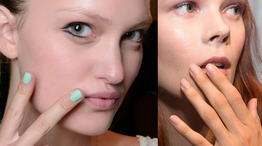Spring Beauty Trends Nude & Pastel Nails