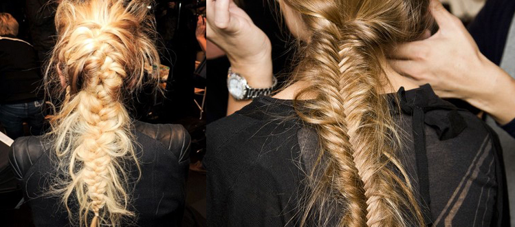 Spring Beauty Trends Pulled Apart Fishtails