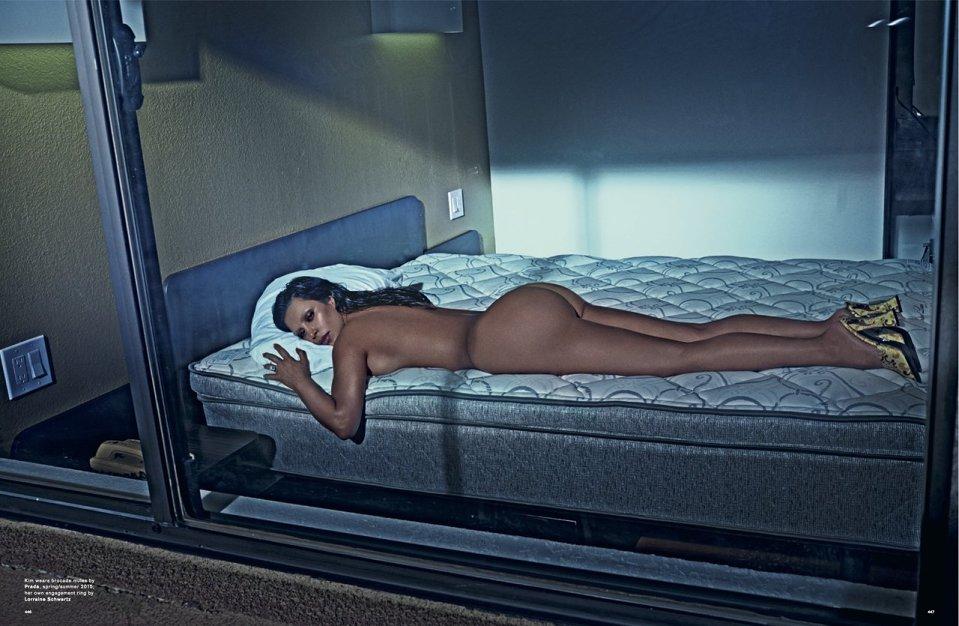 Kim Kardashian for LOVE Magazine SS 2015-2