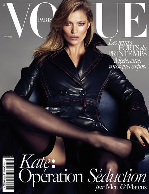 Kate Moss Vogue Paris March 2015