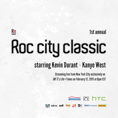 Roc City Classic featuring Kevin Durant x Kanye West