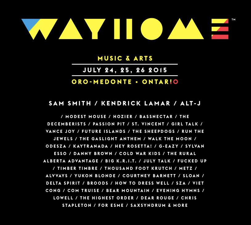 WayHome Music Festival 2015