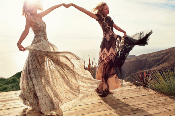 Taylor Swift and Karlie Kloss for Vogue March 2015-7