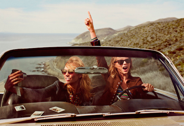 Taylor Swift and Karlie Kloss for Vogue March 2015-8