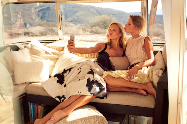 Taylor Swift and Karlie Kloss for Vogue March 2015-9