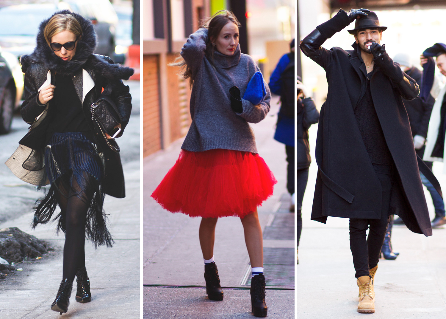 28 street style photos from last weekend at made fashion week sidewalk hustle Street style ny fashion week fall 2015