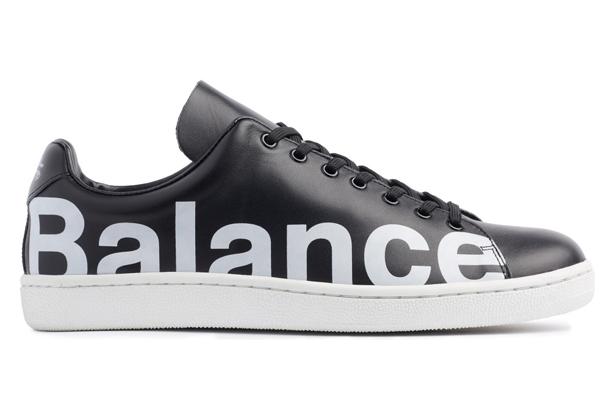 UNDERCOVER Chaos Balance Sneaker by Jun Takahashi Black side
