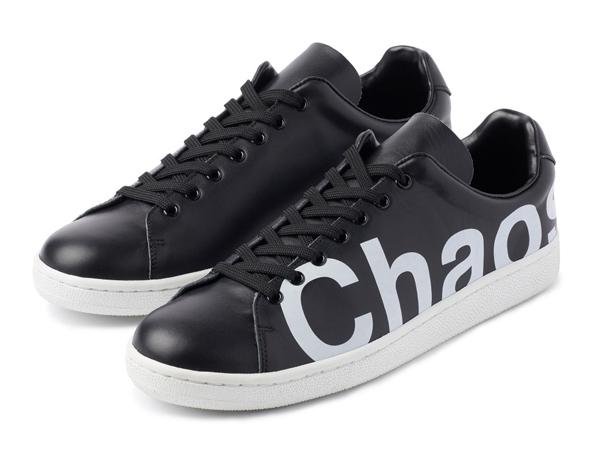 UNDERCOVER Chaos Balance Sneaker by Jun Takahashi Black
