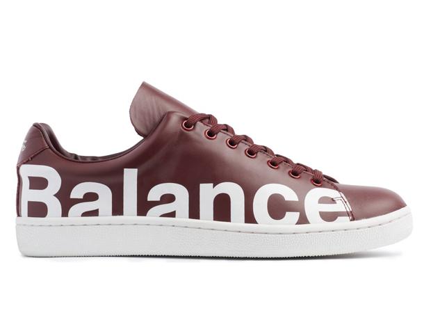 UNDERCOVER Chaos Balance Sneaker by Jun Takahashi Bordeaux UNDERCOVER Chaos Balance Sneaker by Jun Takahashi Bordeaux side