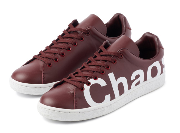 UNDERCOVER Chaos Balance Sneaker by Jun Takahashi Bordeaux