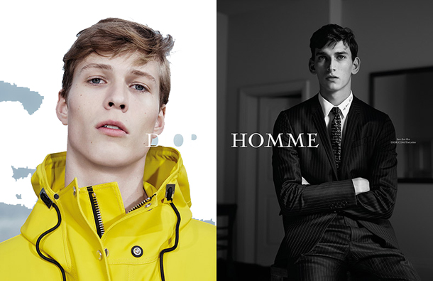 Dior Homme The Letter SS15 Campaign-1