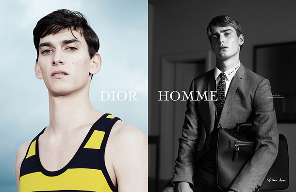 Dior Homme The Letter SS15 Campaign-2