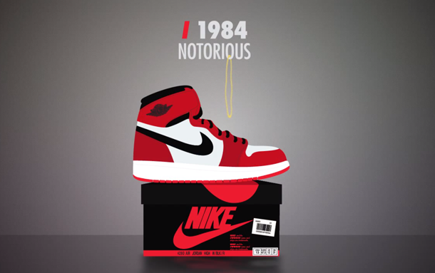 An Animated History of the Nike Air Jordan