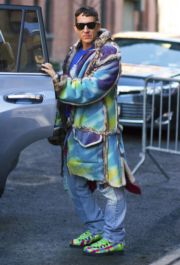 NYFW 2015 Street Style Jeremy Scott