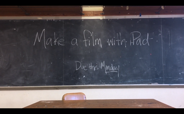 Make a film with Apple iPad Campaign