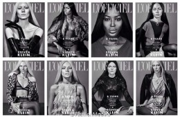 Naomi Campbell, Liu Wen, Crystal Renn, & More for L'Officiel Singapore March 2015