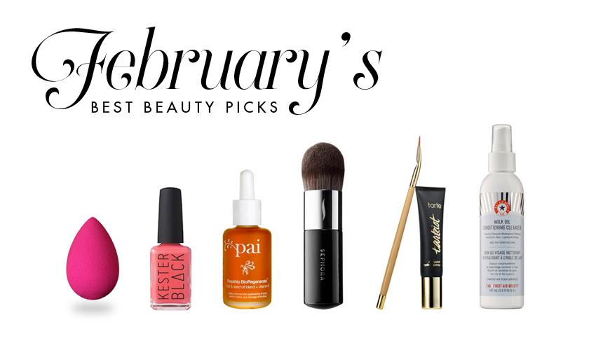 February's Beauty Picks 2015