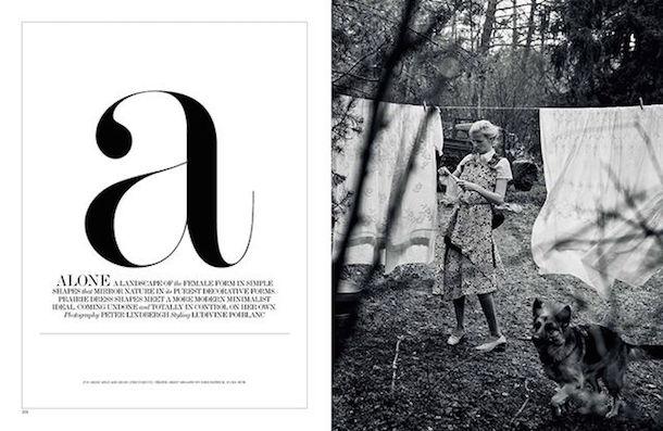 Lara Stone for Interview Magazine March 2015-2