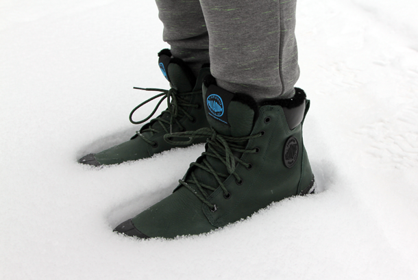 What I Wore In the Great White North-Palladium Boots side