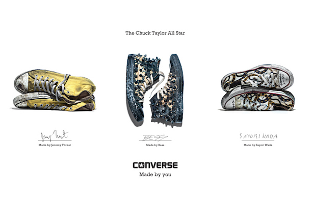 Converse Launches Made By You Campaign
