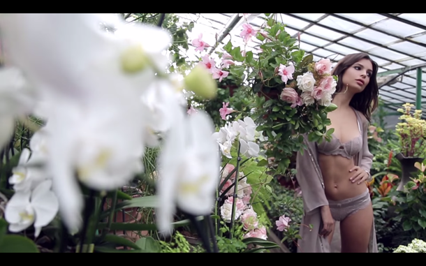 Emily Ratajkowski for Yamamay Spring 2015 Lingerie Campaign Video