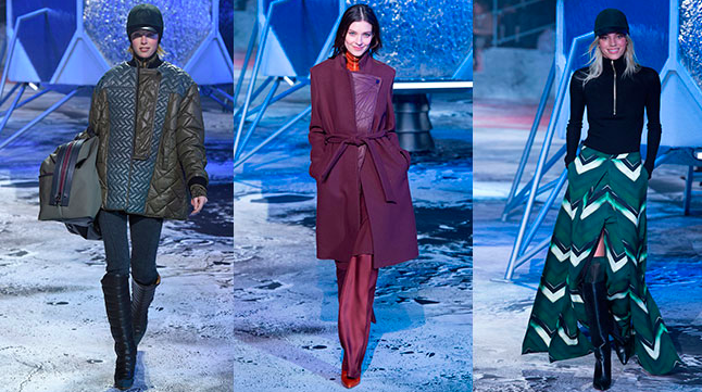 H&M Studio Autumn Winter 2015 at Paris Fashion Week