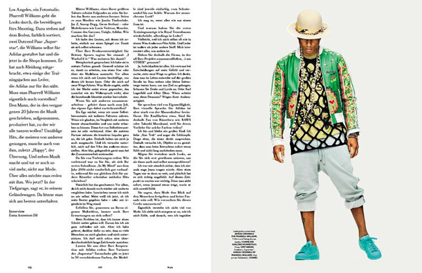 Pharrell Williams for GQ Style Germany Spring Summer 2015-4