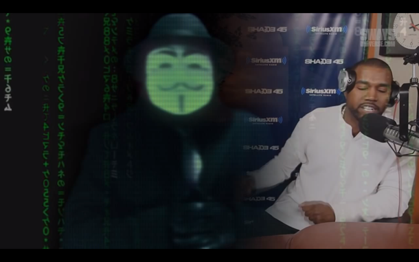 Anonymous Targets Kanye West 2015