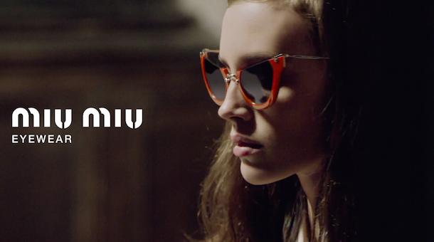 Miu Miu Eyewear Spring Summer 2015 Campaign