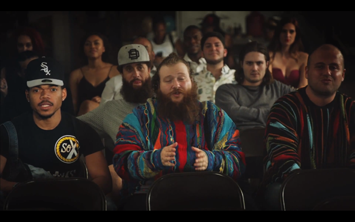 Action Bronson Chance the Rapper Baby Blue Video