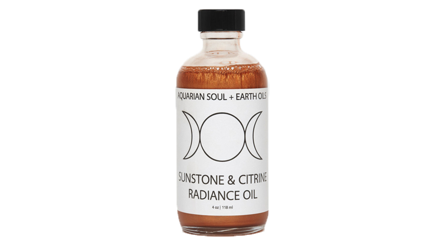 Aquarian Soul + Earth Oils' Sunstone and Citrine Radiance Oil