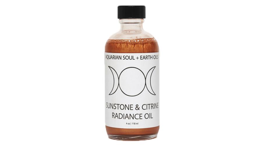 Aquarian Soul + Earth Oils' Sunstone and Citrine Radiance Oil