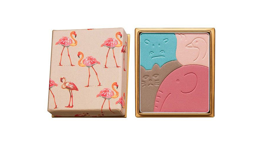 Paul & Joe Menagerie Face & Eye Colour Palette Les Flamants Roses