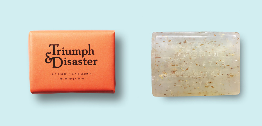 Triumph & Disaster A + R Soap