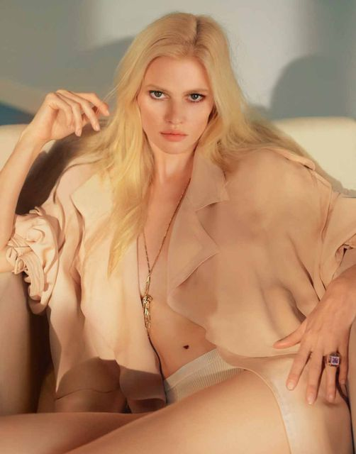 Lara Stone for Marie Claire France May 2015-4