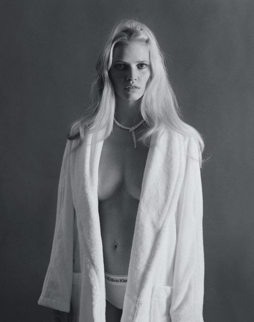 Lara Stone for Marie Claire France May 2015-7