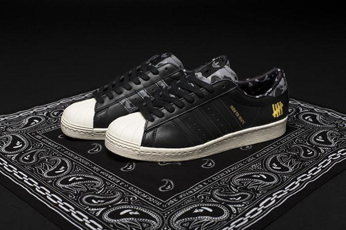 BAPE x Undefeated x adidas Originals Superstar 80s Pack-2