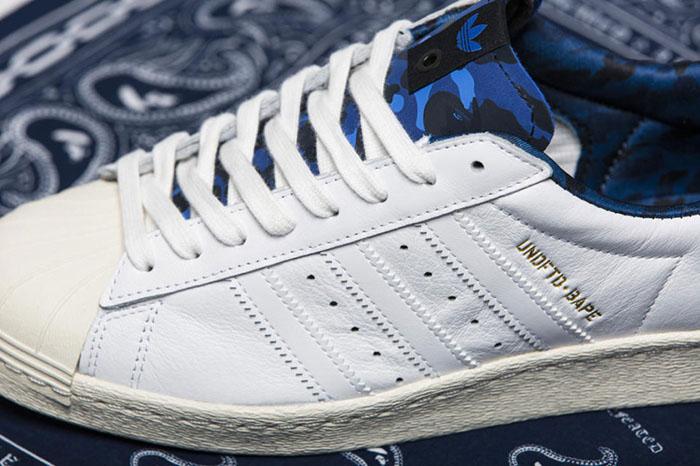 BAPE x Undefeated x adidas Originals Superstar 80s Pack-3