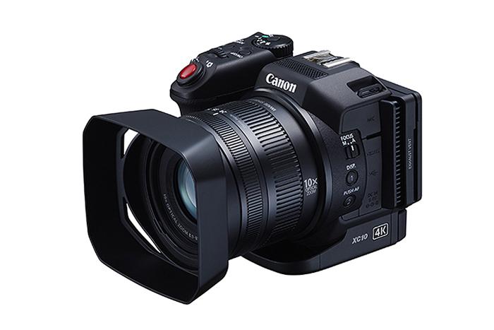 Canon presents the XC10 4K Camcorder