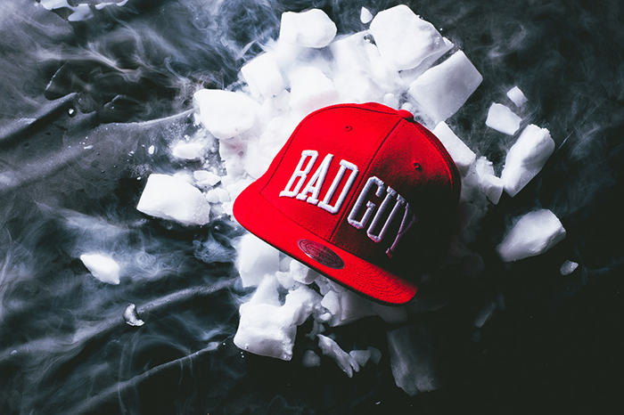 Party With Villains x Mitchell Ness Bad Guy Snapback-1