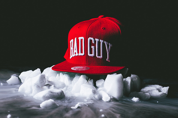 Party With Villains x Mitchell Ness Bad Guy Snapback-2