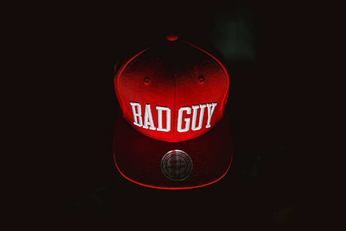 Party With Villains x Mitchell Ness Bad Guy Snapback-5