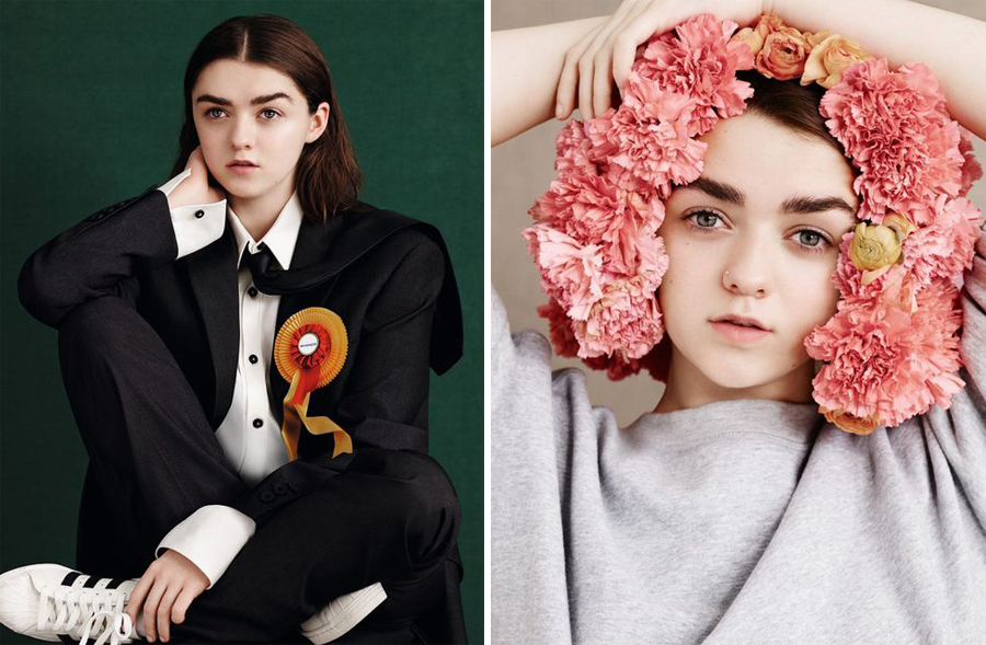 Maisie Williams for Dazed Spring Summer 2015-3