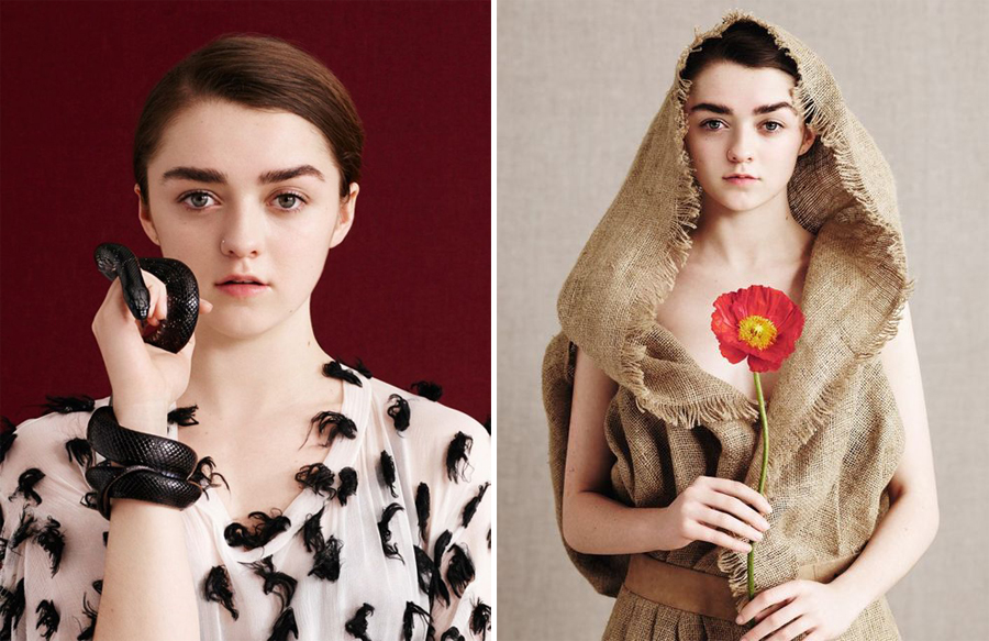 Maisie Williams for Dazed Spring Summer 2015-4