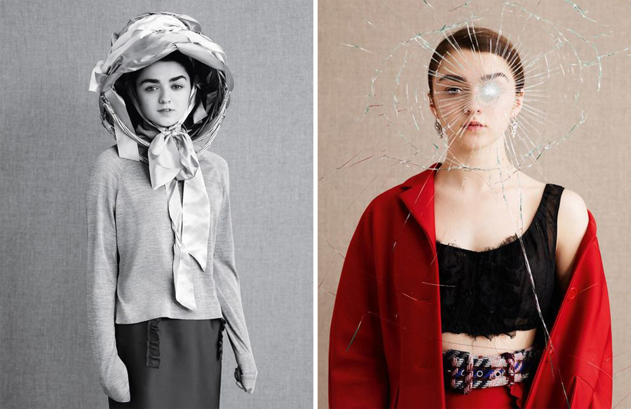 Maisie Williams for Dazed Spring Summer 2015-5