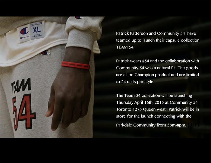 Community 54 x Patrick Patterson TEAM54-3