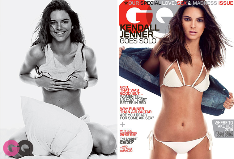 Kendall Jenner for GQ May 2015