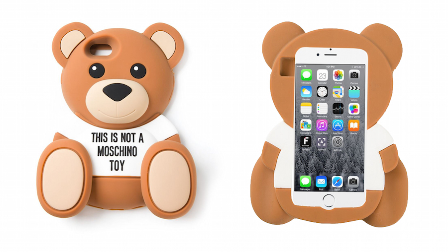 Moschino Teddy Bear iPhone Case