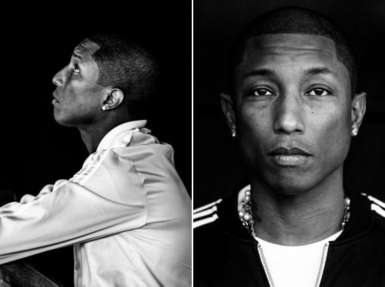 Pharrell Williams Portraits by Nicholas Maggio-2