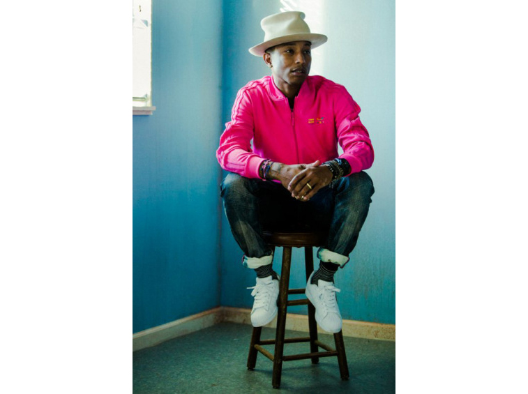Pharrell Williams Portraits by Nicholas Maggio-3